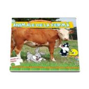 Animale de la ferma. Cartea mea cu puzzle-uri - Baby Looney Tunes (Cu 5 puzzle-uri in interior)