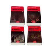Colectia Rodica Ojog Brasoveanu, set de 4 carti - Telefonul din bikini - Al cincilea as - Poveste imorala - Disparitia statuii din parc