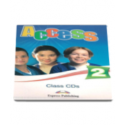 Curs Limba Engleza Access 2 Class CD - Set 4 CD-uri Elementary (A2) - Virginia Evans si Jenny Dooley