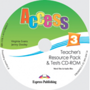 Virginia Evans, Curs limba engleza Access 3 CD. Teachers Resource Pack CD-ROM cu Teste