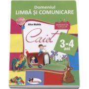 Alice Nichita, Domeniul Limba si Comunicare 3-4 ani. Gradinita copiilor isteti