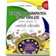 Cristina Johnson, Exercitii de gramatica limbii engleze. Caietul elevului pentru clasele I-IV