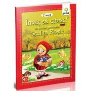 Scufita Rosie - Invat sa citesc in limba germana nivelul 1 - Varsta recomandata: 8 - 11 ani