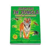 Aventuri in jungla. Carte cu abtibilduri