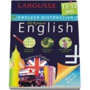 Larousse, Engleza distractiva 12-13 ani. Larousse (100 exercitii progresive, 100 de jocuri didactice, 100 medalioane culturale)