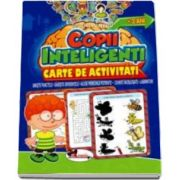 Jocuri pentru copii inteligenti, 3 ani. Carte de activitati - Uneste punctele, gaseste diferentele, alege perechile potrivite, cuvinte incrucisate, labirinturi
