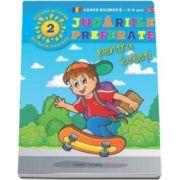 Jucariile preferate pentru baieti - Coloreaza si invata primele cuvinte in limba engleza