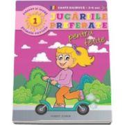 Jucariile preferate pentru fetite - Coloreaza si invata primele cuvinte in limba engleza