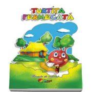 Poveste de colorat - Turtita fermecata