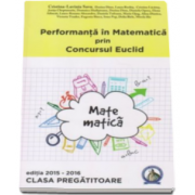 Cristina Lavinia Savu - Auxiliar clasa pregatitoare pentru performanta in Matematica prin Concursul Euclid, editia 2015-2016
