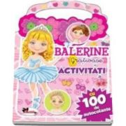 Balerine gratioase - Activitati cu 100 de autocolante