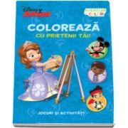 Coloreaza cu prietenii tai - Jocuri si activitati - Colectia Disney
