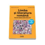 LIMBA SI LITERATURA ROMANA. Teste de evaluare pentru clasa a V-a - Sugestii de rezolvare