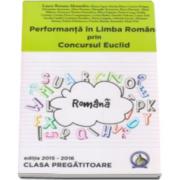 Laura Roxana Alexandru, Performanta in Limba Romana prin Concursul Euclid la Clasa Pregatitoare - Editia 2015-2016