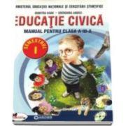 Educatie civica, manual pentru clasa a III-a, Semestrul I si Semestrul II - Contine CD cu editia digitala - Autori: Dumitra Radu si Gherghina Andrei