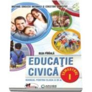 Olga Piriiala - Educatie civica, manual pentru clasa a III-a, Semestrul I si Semestrul II - Fara CD-uri, nota editurii.