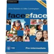 Chris Redston - Face2Face 2nd Edition Pre-intermediate Class Audio CDs (3) - Pentru clasa a XI-a