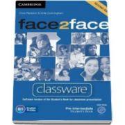Chris Redston - Face2Face 2nd Edition Pre-intermediate Classware DVD-ROM - Pentru clasa a XI-a