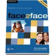 Chris Redston - Face2Face 2nd Edition Pre-intermediate Workbook with Key - Caietul elevului pentru clasa a XI-a (Cu cheie)