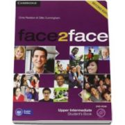 Chris Redston - Face2Face Upper Intermediate 2nd Edition Students Book with DVD-ROM - Manualul elevului pentru clasa a XII-a L2 (Contine DVD)
