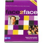 Chris Redston - Face2Face Upper Intermediate 2nd Edition Workbook with Key - Caietul elevului pentru clasa a XII-a L2 (Cu cheie)