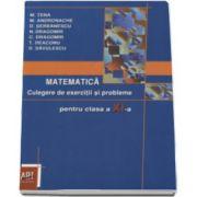 Marcel Tena, Matematica - Culegere de exercitii si probleme pentru clasa a XI-a