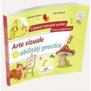 Nicoleta Ciobanu, Arte vizuale si abilitati practice, pentru clasa pregatitoare - Caietul micului scolar