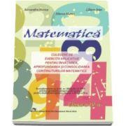Matematica culegere pentru clasa a IV-a, de exercitii aplicative (Alexandra Manea)
