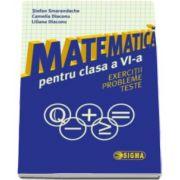 Stefan Smarandache - Matematica pentru clasa a VI-a. Exercitii. Probleme. Teste
