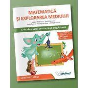 Stefan Pacearca - Matematica si explorarea mediului, caietul elevului pentru clasa pregatitoare
