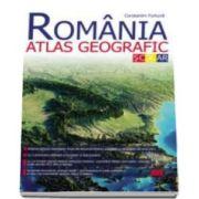 Romania. Atlas geografic scolar - Constantin Furtuna (Editia a II-a)