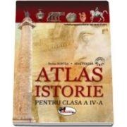 Atlas de istorie pentru clasa a IV-a (Doina Burtea)