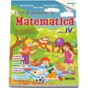 Caiet de pregatire la Matematica, pentru clasa a IV-a, semestrul 1 (Liliana Briceag)