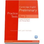Cambridge English Preliminary. Practice Tests Plus 3 with Key and Multi-ROM (Audio CD Pack)