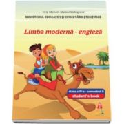 Limba moderna engleza, manual pentru clasa a IV-a, semestrul II - Contine editia digitala (Smart Junior 4)