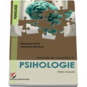 Margareta Dinca, Metode de cercetare in psihologie (Editie revizuita)