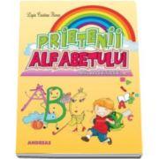 Prietenii alfabetului - Carte ilustrata cu poezii pentru cei mici (Ligia Cristina Florea)