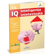 IQ - Inteligenta intelectuala - Inteligenta logico-matematica. Inteligenta lingvistica. Varsta recomandata 4 ani