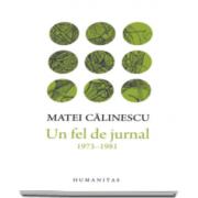 Matei Calinescu, Un fel de jurnal - 1973-1981
