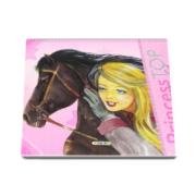 Horses coloring book - Princess TOP (roz)
