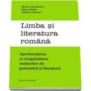 Maria Cobusneanu - Limba si literatura romana. Aprofundarea si recapitularea notiunilor de gramatica si literatura