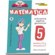 Matematica - CONSOLIDARE (2016 - 2017) - Algebra si Geometrie, pentru clasa a V-a. Partea II, semestrul II (Colectia mate 2000+)