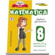 Matematica - CONSOLIDARE (2016 - 2017 ) Algebra si Geometrie, pentru clasa a VIII-a. Partea II, semestrul II (Colectia mate 2000+)