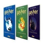 Set - Harry Potter de J. K. Rowling - Volumele I, II si III. Harry Potter si piatra filosofala, Camera secretelor si prizonierul din Azkaban