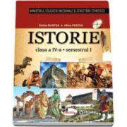 Istorie manual pentru clasa a IV-a, semestrul I si semestrul al II-lea (Contine editia digitala) - Alina Pertea si Doina Burtea