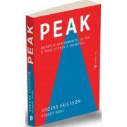 Peak. Secretele performantei de top si noua stiinta a expertizei (Anders Ericsson)