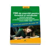 Dumitrache Gratiela - 700 de exercitii pentru fonetica si vocabular