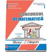 Doina Nechifor - Concursul de matematica Florica T. Campan, pentru clasele I-IV. Editia a XVI-a (2017)