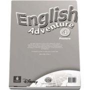 English Adventure Level 4 Posters (Izabella Hearn)