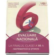 Daniela Stanica - Matematica si Stiinte, ghid de pregatire pentru evaluare nationala la finalul clasei a VI-a (contine 28 de teste originale)